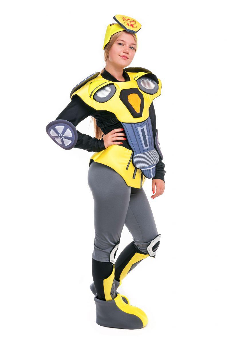 Масочка - Чарли Бамблби «Трансформеры» карнавальный костюм для аниматора / фото №2406