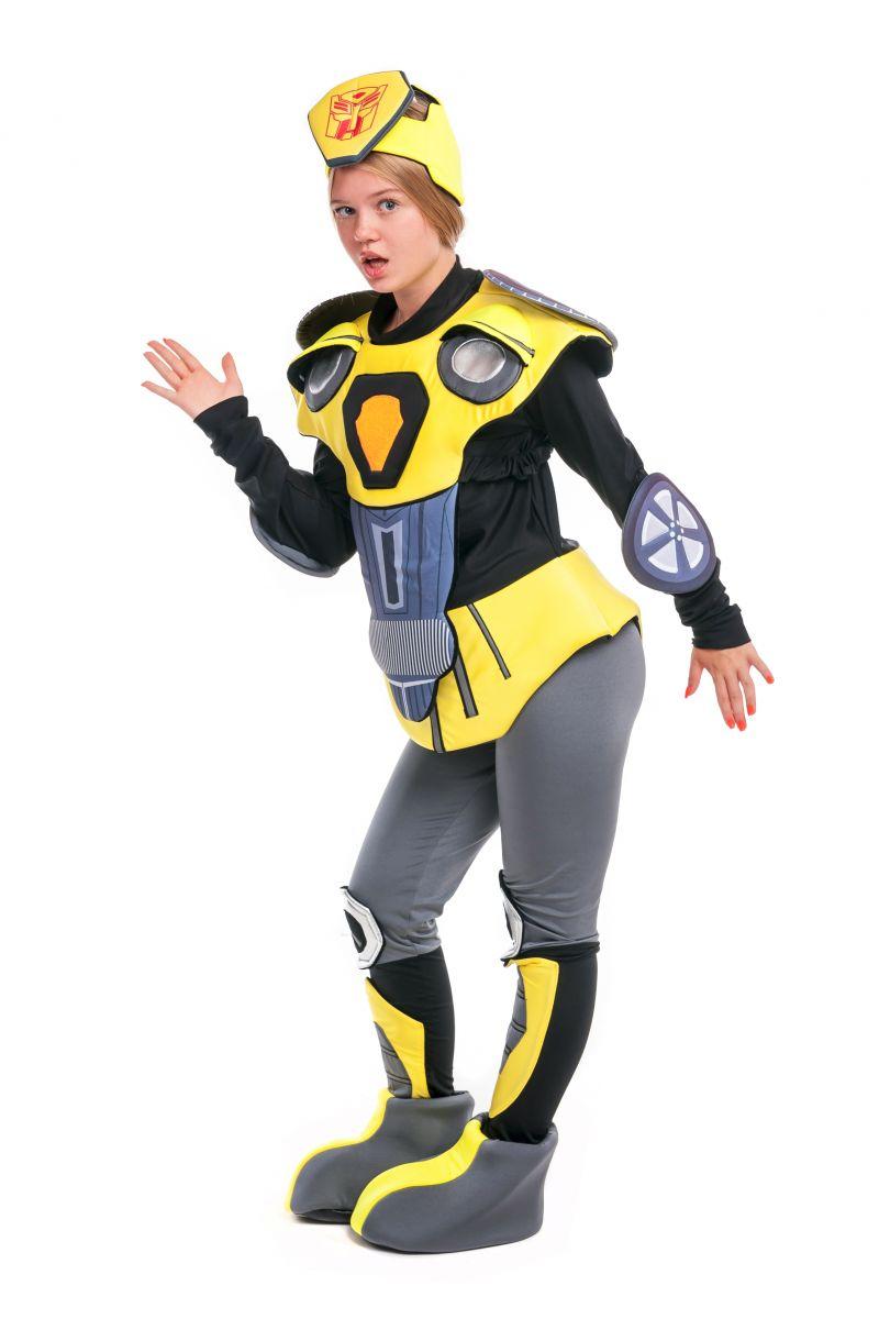 Масочка - Чарли Бамблби «Трансформеры» карнавальный костюм для аниматора / фото №2407