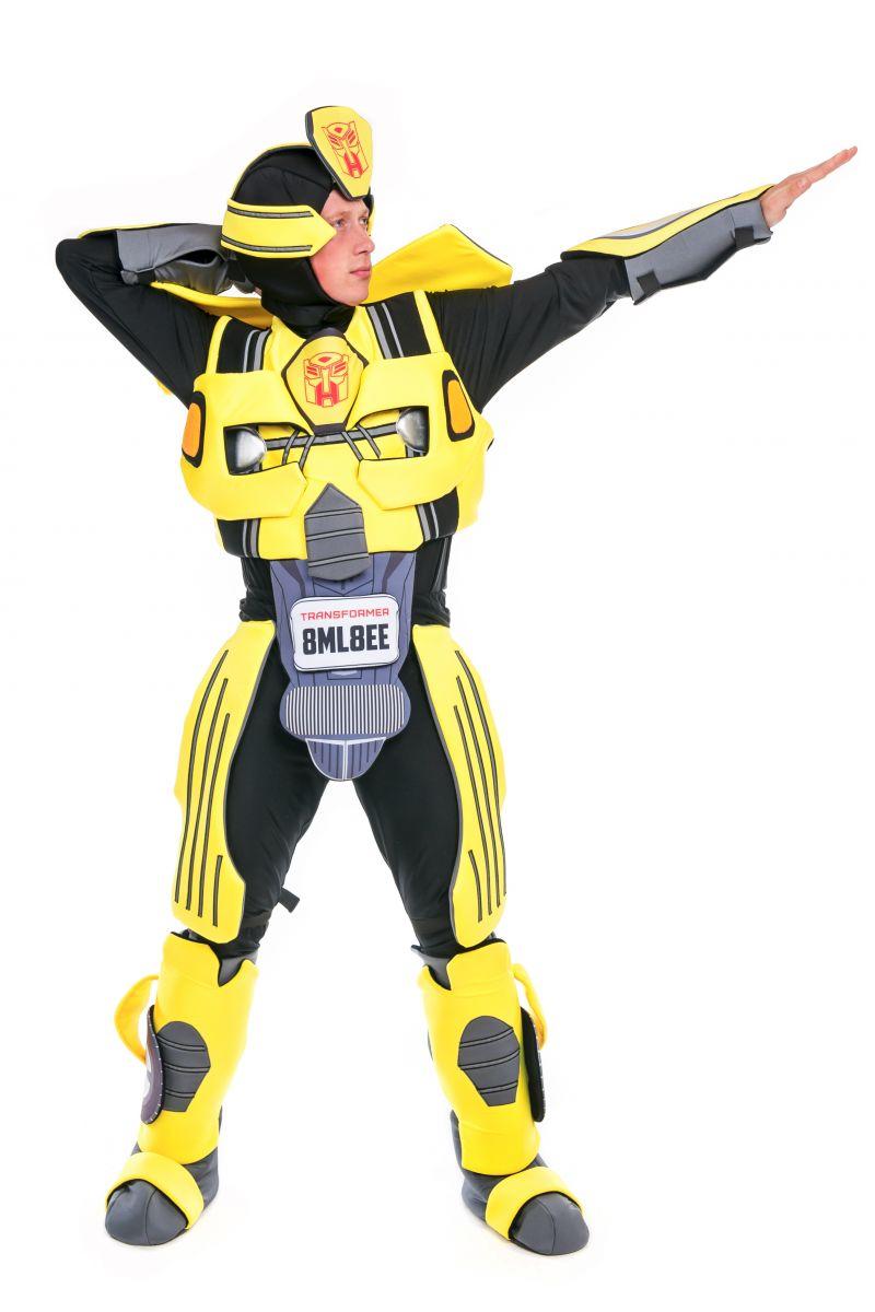 Масочка - Бамблби «Трансформеры» карнавальный костюм для аниматора / фото №2418