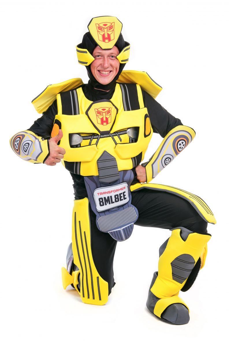 Масочка - Бамблби «Трансформеры» карнавальный костюм для аниматора / фото №2419