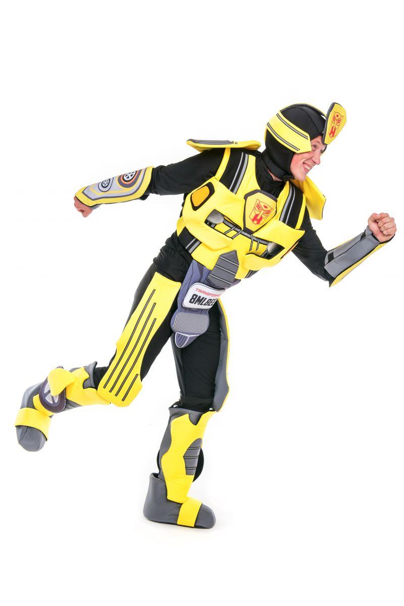 Масочка - Бамблби «Трансформеры» карнавальный костюм для аниматора / фото №2420