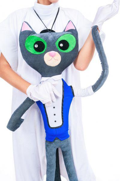 Кукла марионетка «Кот Ученый» карнавальный реквизит для аниматора
