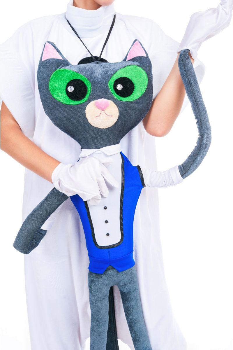 Масочка - Кукла марионетка «Кот Ученый» карнавальный реквизит для аниматора / фото №2437
