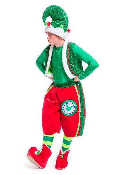 «Рождественский Эльф» карнавальный костюм для аниматоров