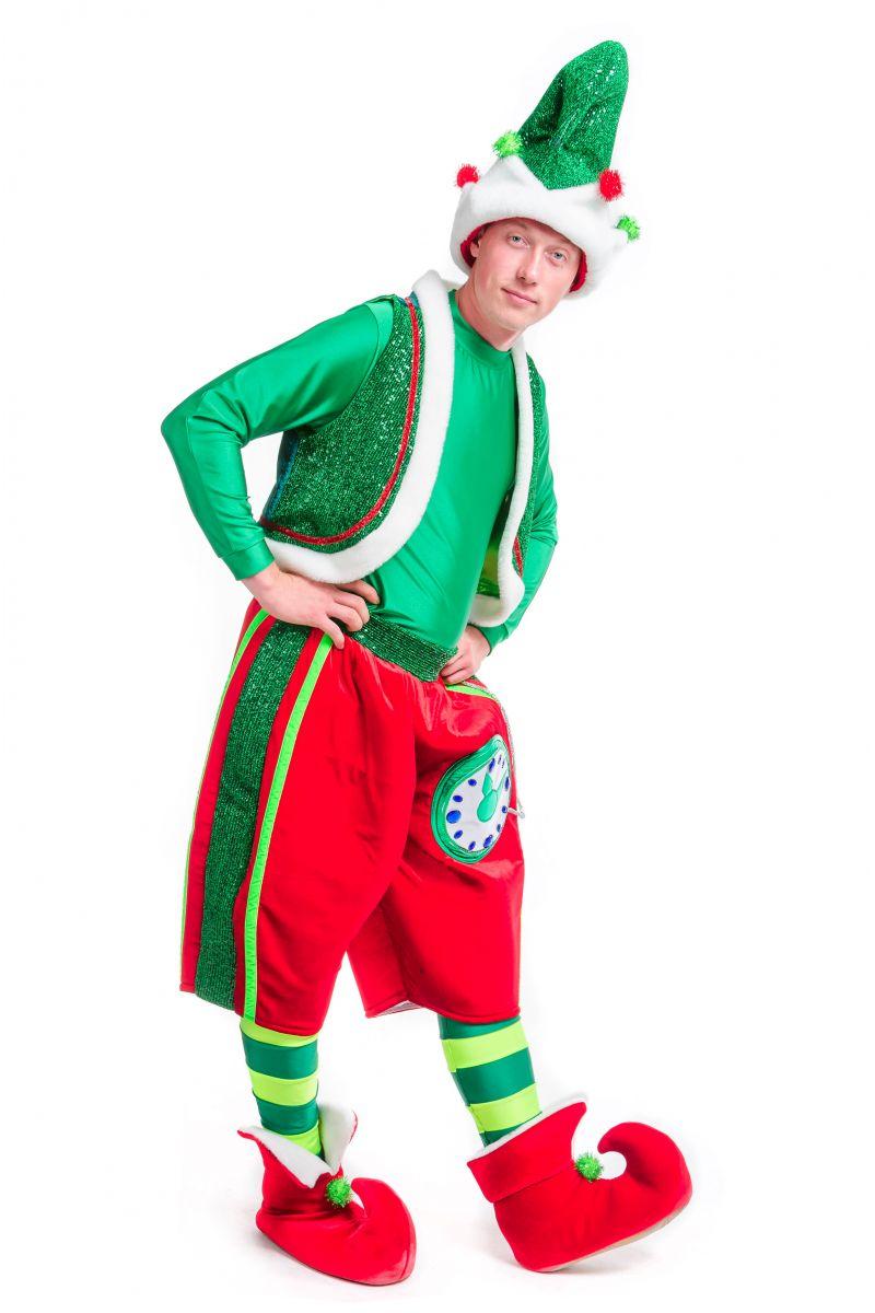 Масочка - «Рождественский Эльф» карнавальный костюм для аниматоров / фото №2481