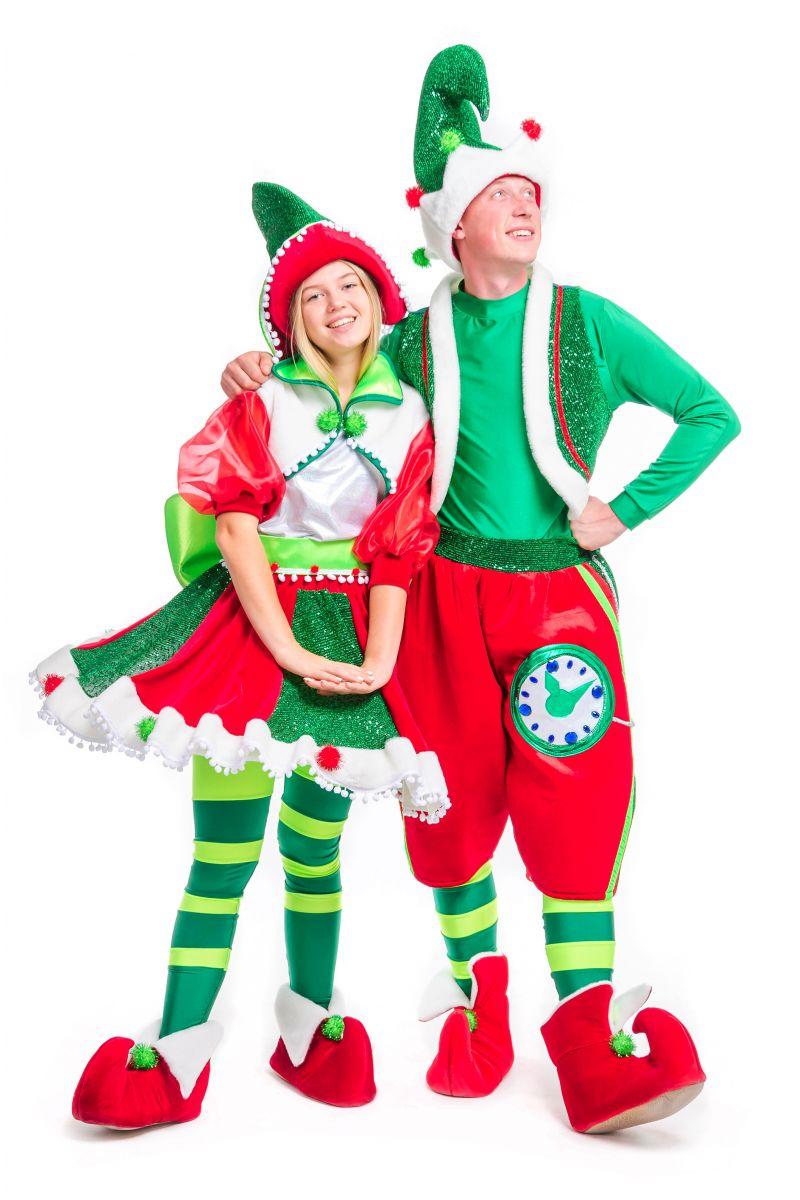 Масочка - «Рождественский Эльф» карнавальный костюм для аниматоров / фото №2485