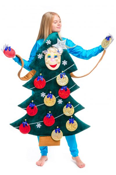 «Новогодняя Ёлочка» карнавальный реквизит для аниматоров