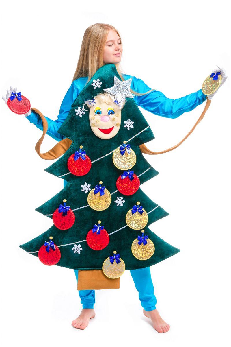 Масочка - «Новогодняя Ёлочка» карнавальный реквизит для аниматоров / фото №2502