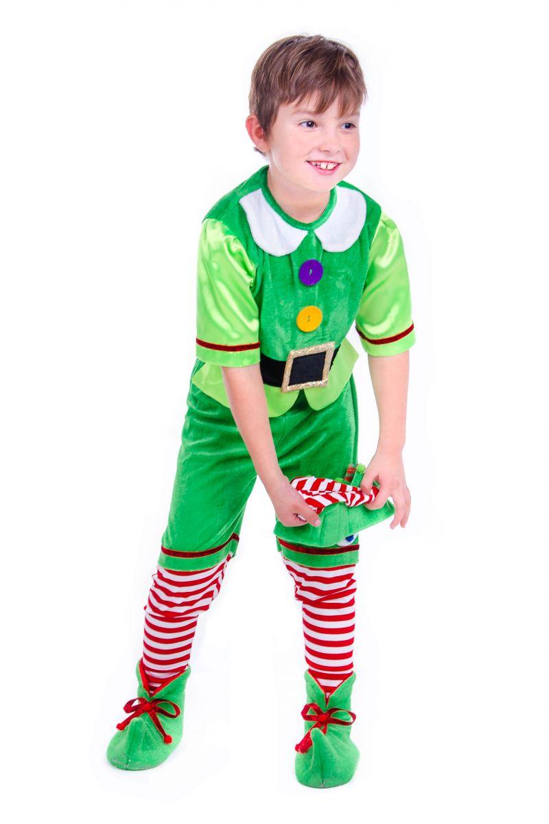 Масочка - «Эльф новогодний» карнавальный костюм для малыша / фото №2518