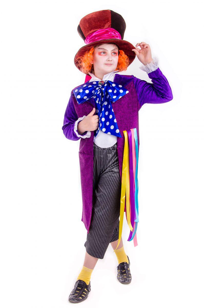 Масочка - «Шляпник из страны чудес» карнавальный костюм для мальчика / фото №2524