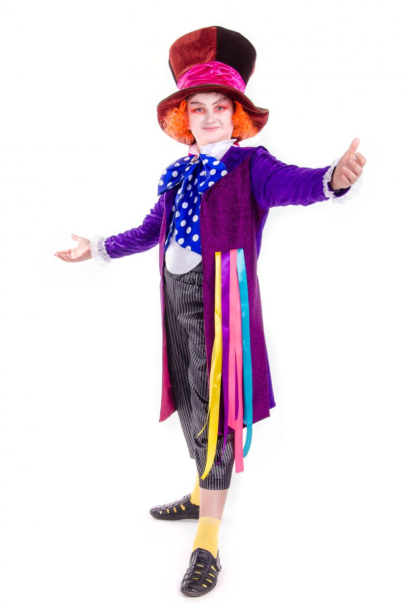 «Шляпник из страны чудес» карнавальный костюм для мальчика