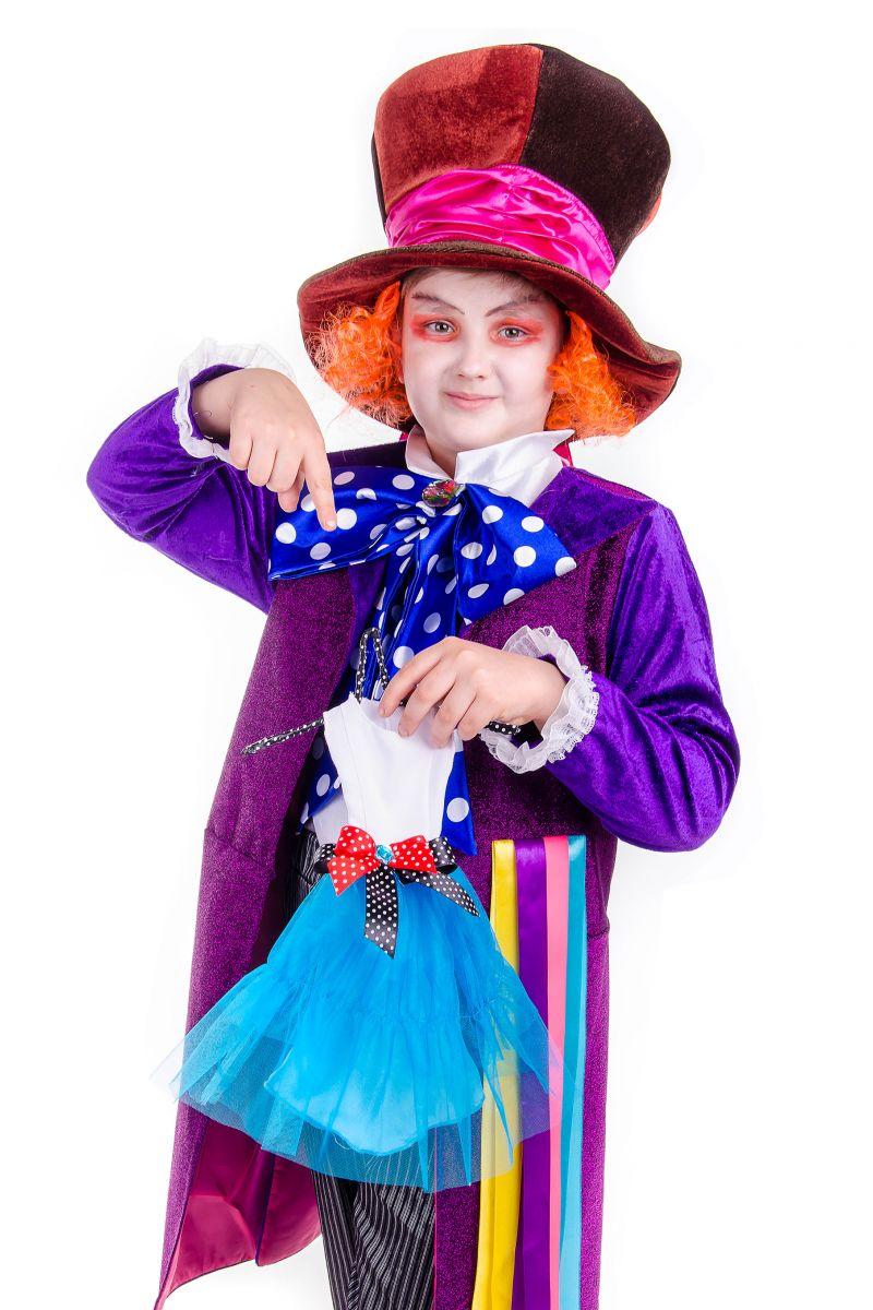 Масочка - «Шляпник из страны чудес» карнавальный костюм для мальчика / фото №2537