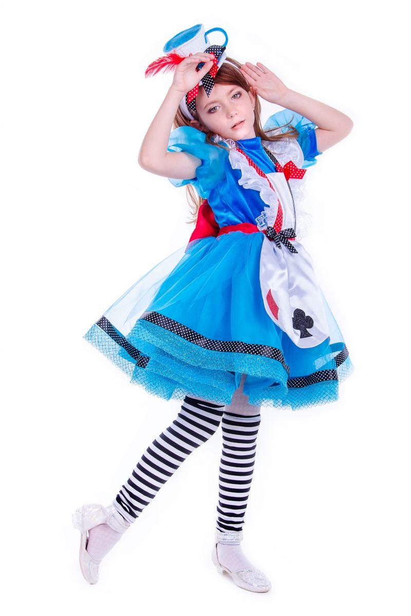 Масочка - «Алиса в стране чудес» карнавальные костюмы для девочки / фото №2538