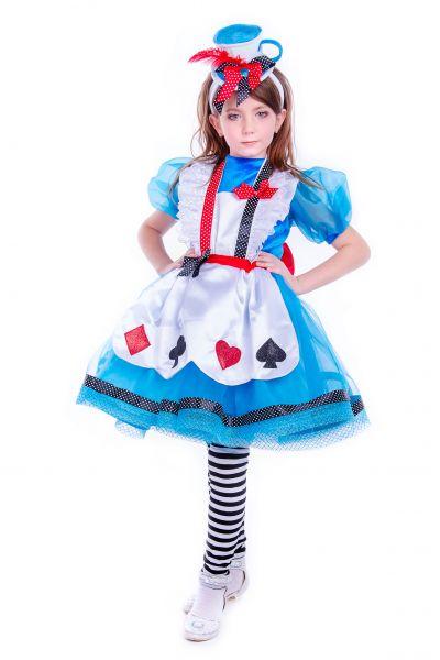 «Алиса в стране чудес» карнавальные костюмы для девочки
