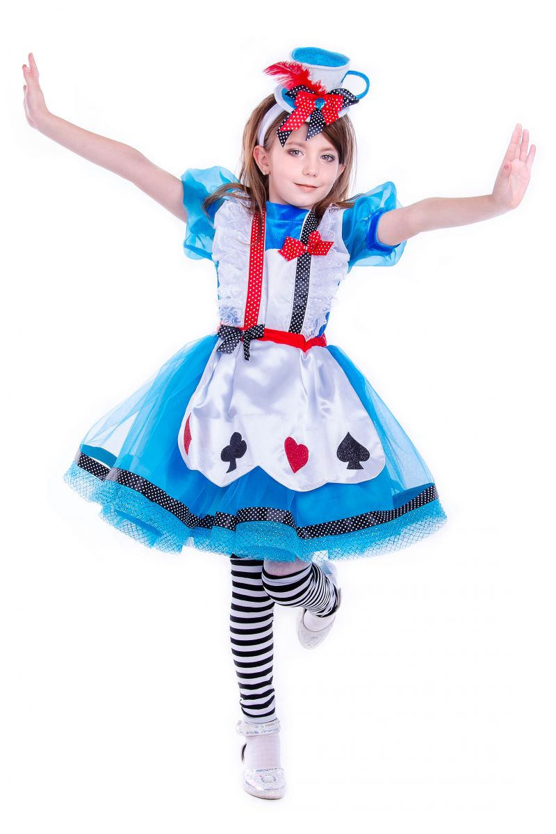 Масочка - «Алиса в стране чудес» карнавальные костюмы для девочки / фото №2540