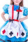 «Алиса в стране чудес» карнавальные костюмы для девочки - 2546