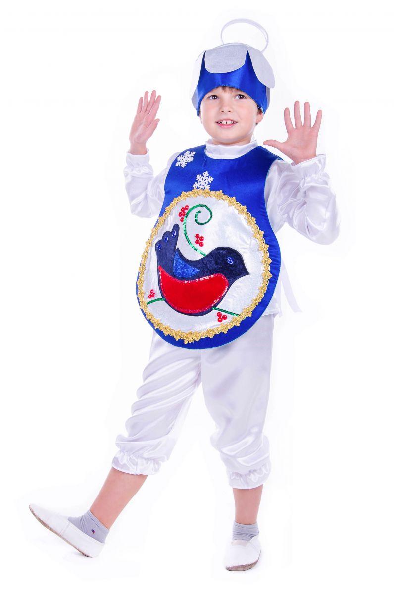 Масочка - «Елочная игрушка мальчик» карнавальный костюм для мальчика / фото №2548