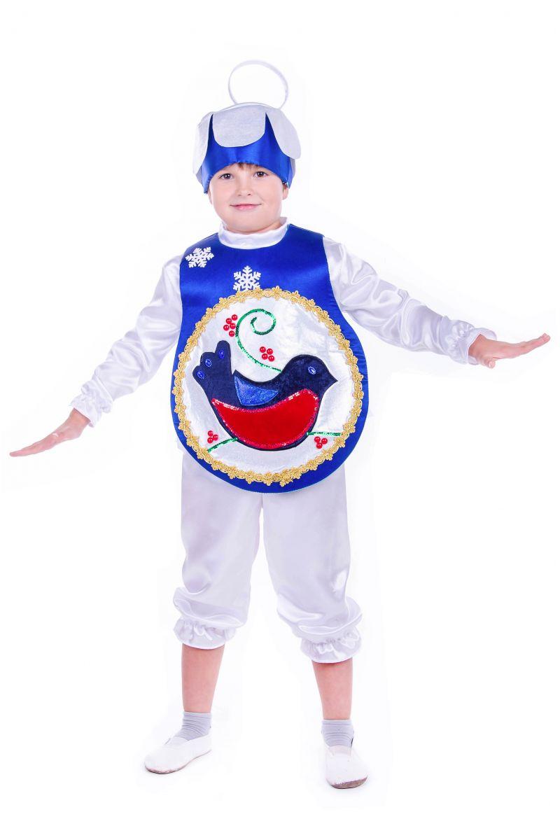 Масочка - «Елочная игрушка мальчик» карнавальный костюм для мальчика / фото №2549