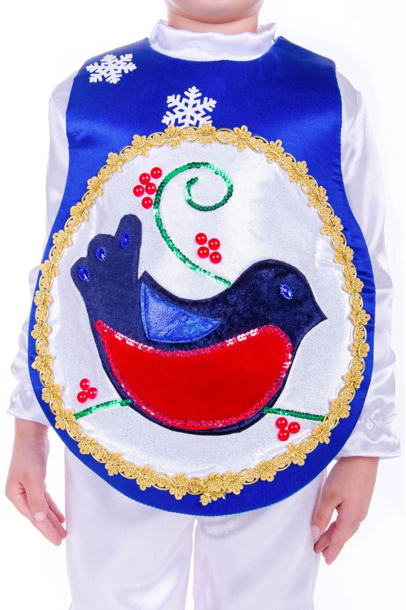 Масочка - «Елочная игрушка мальчик» карнавальный костюм для мальчика / фото №2550