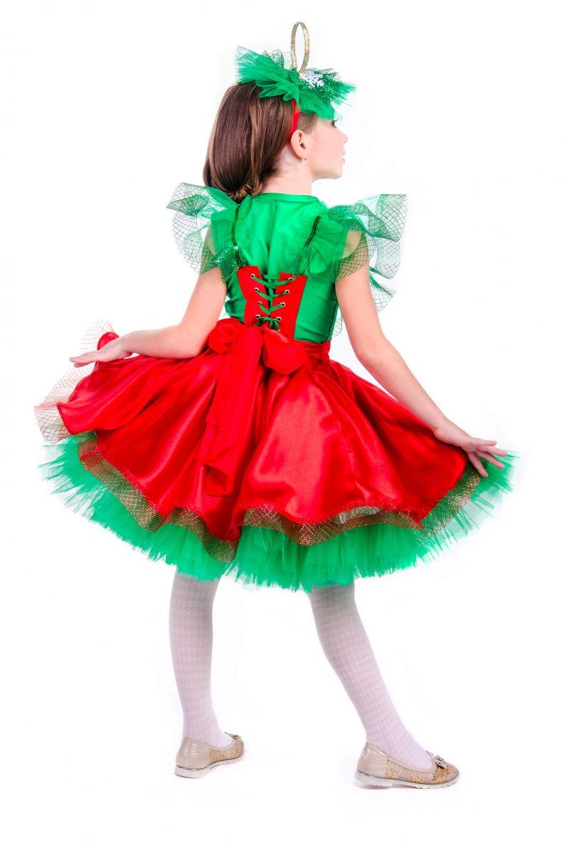 Масочка - «Елочная игрушка девочка» карнавальный костюм для девочки / фото №2555