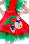 «Елочная игрушка девочка» карнавальный костюм для девочки - 2562
