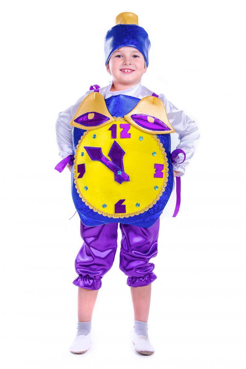 Масочка - «Часы праздничные» карнавальный костюм для мальчика / фото №2575