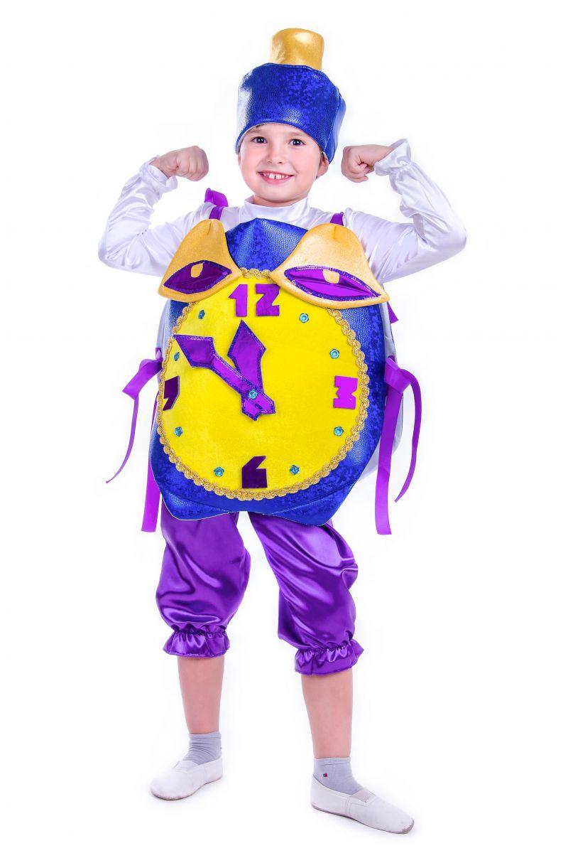 Масочка - «Часы праздничные» карнавальный костюм для мальчика / фото №2576