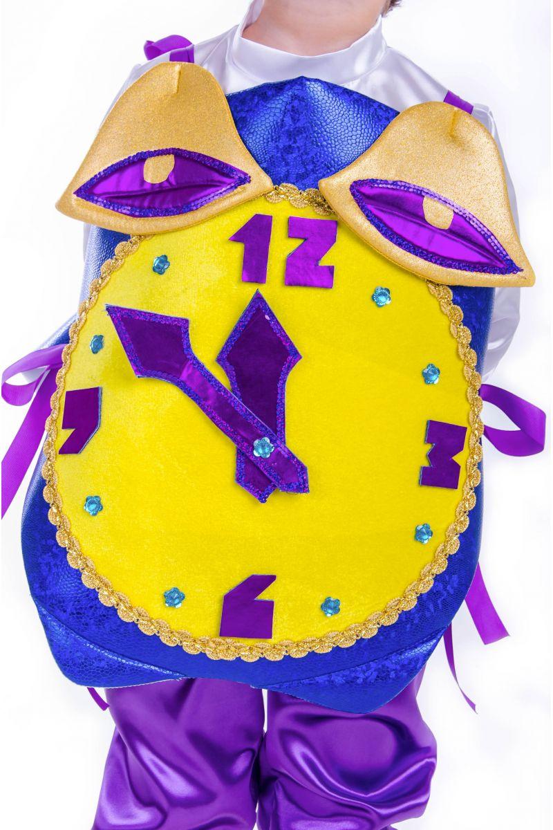 Масочка - «Часы праздничные» карнавальный костюм для мальчика / фото №2577