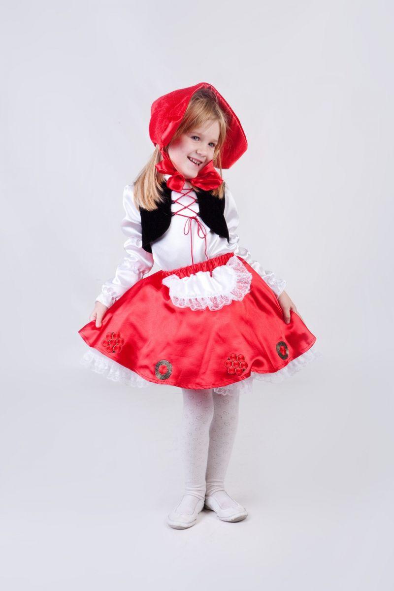 «Красная шапочка» карнавальный костюм для девочки