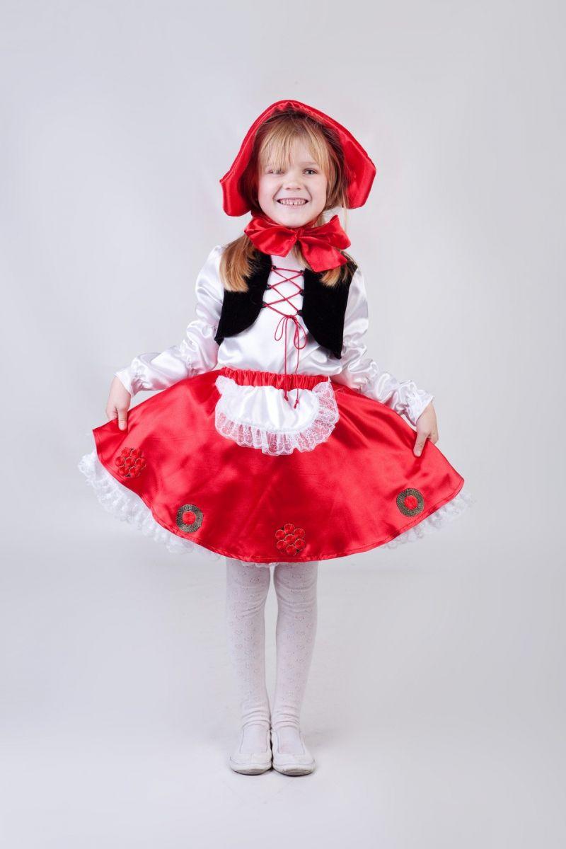 Масочка - «Красная шапочка» карнавальный костюм для девочки / фото №259