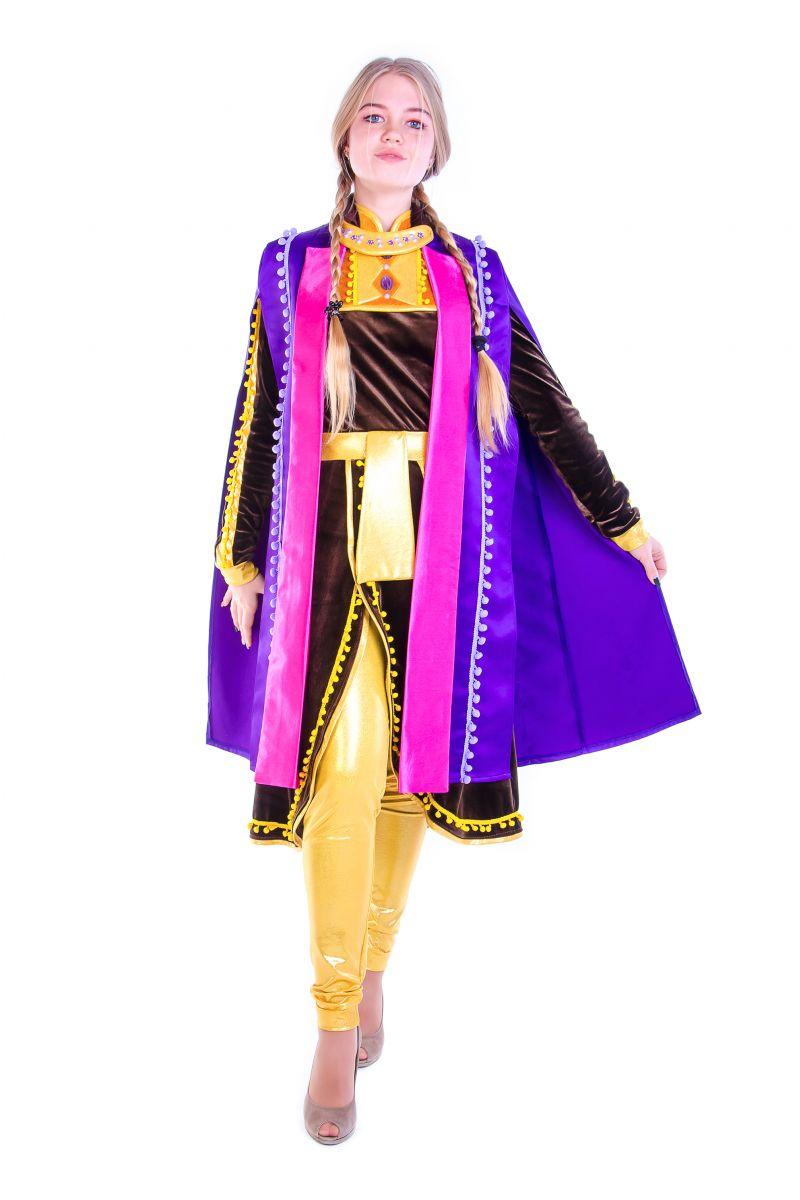 Анна «Холодное сердце 2 » карнавальный костюм для аниматоров