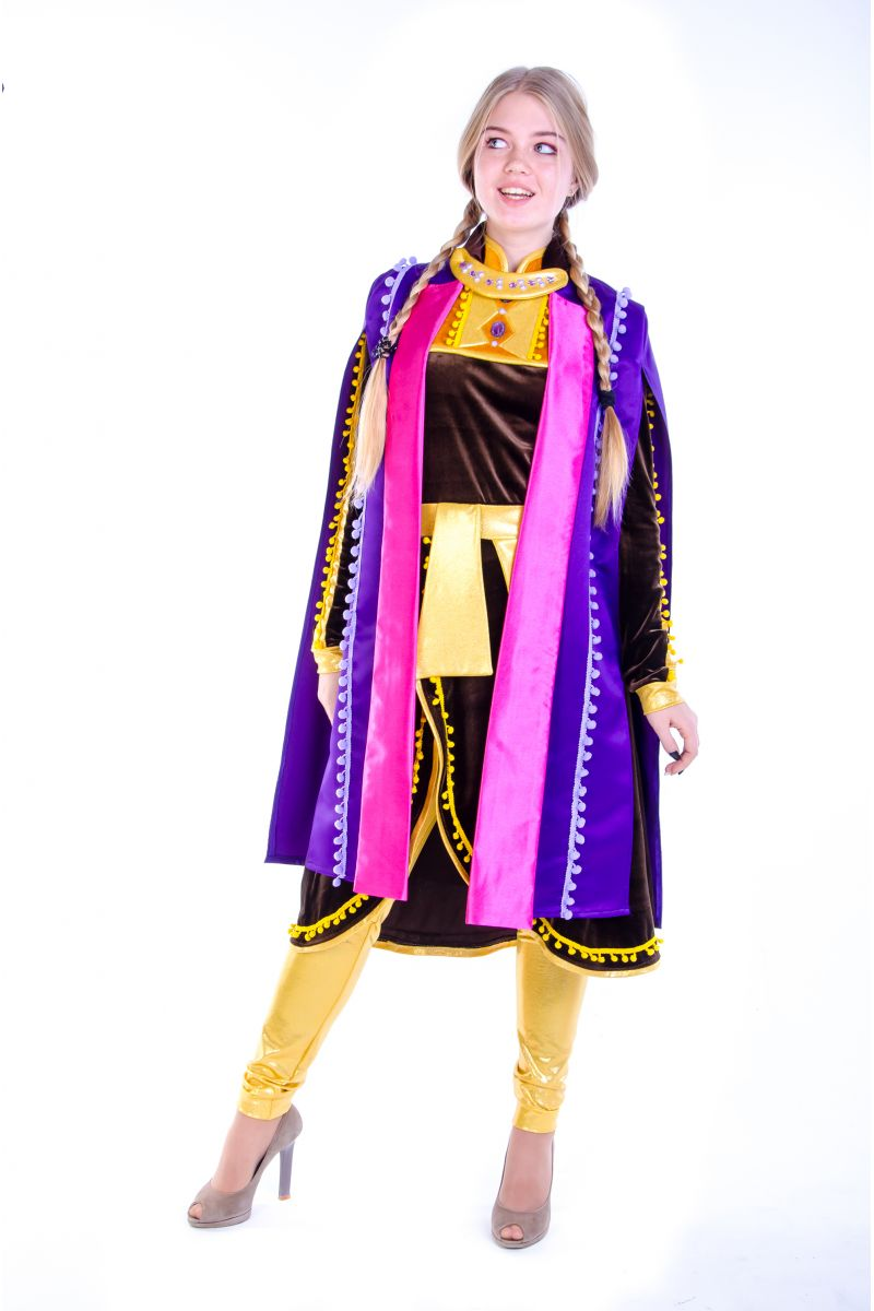 Масочка - Анна «Холодное сердце 2 » карнавальный костюм для аниматоров / фото №2593