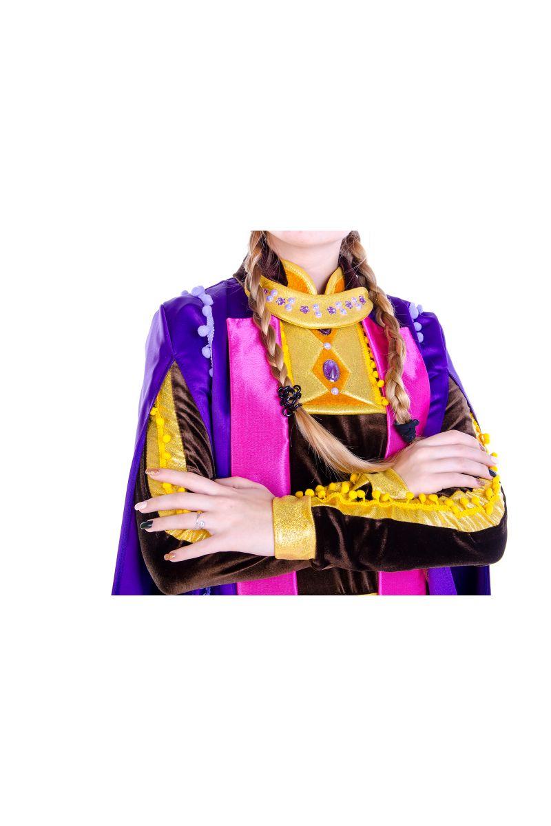 Масочка - Анна «Холодное сердце 2 » карнавальный костюм для аниматоров / фото №2594