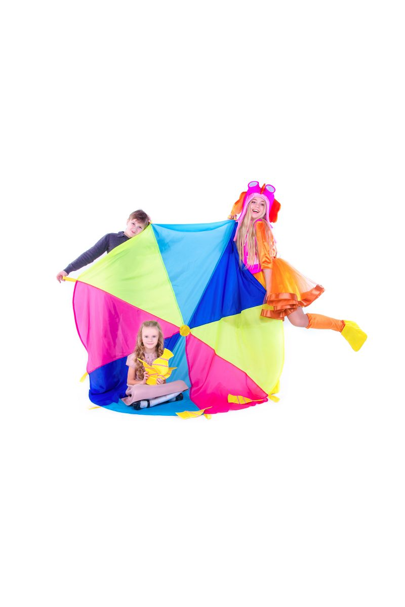 Масочка - «Игровой парашют» реквизит для аниматоров / фото №2609