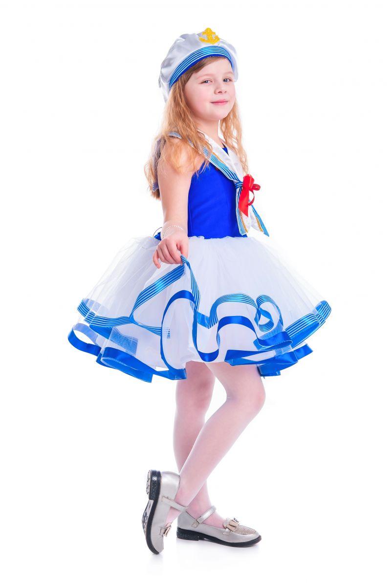 Масочка - «Морячка» карнавальный костюм для девочки / фото №2622