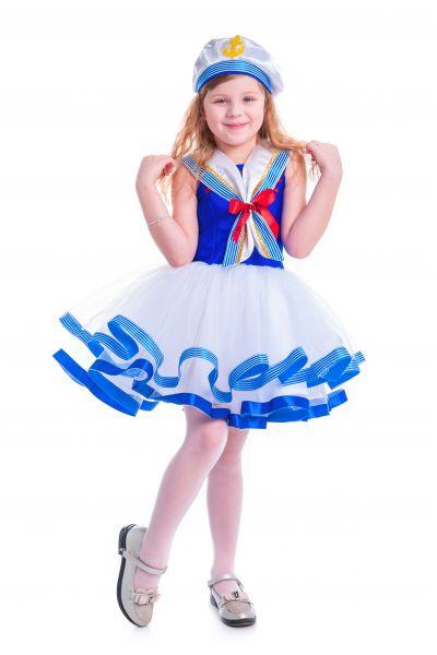 «Морячка» карнавальный костюм для девочки