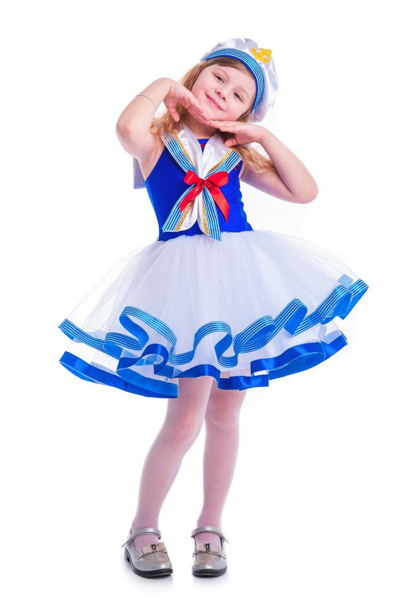 Масочка - «Морячка» карнавальный костюм для девочки / фото №2624