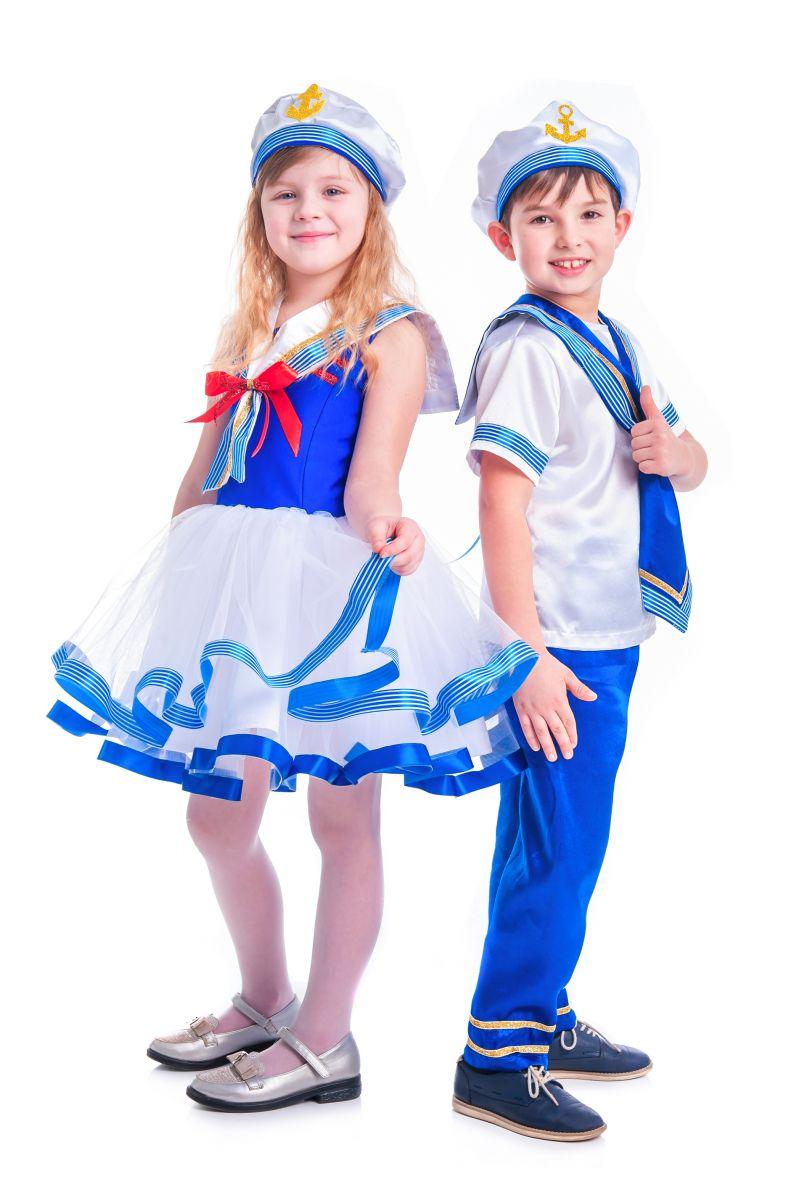 Масочка - «Морячка» карнавальный костюм для девочки / фото №2626
