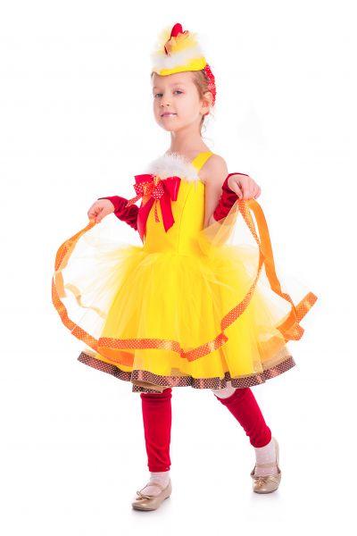 «Курочка Цип-цип» карнавальный костюм для девочки
