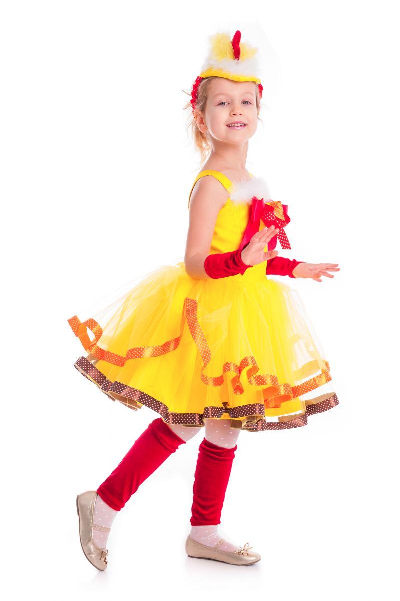 Масочка - «Курочка Цип-цип» карнавальный костюм для девочки / фото №2630
