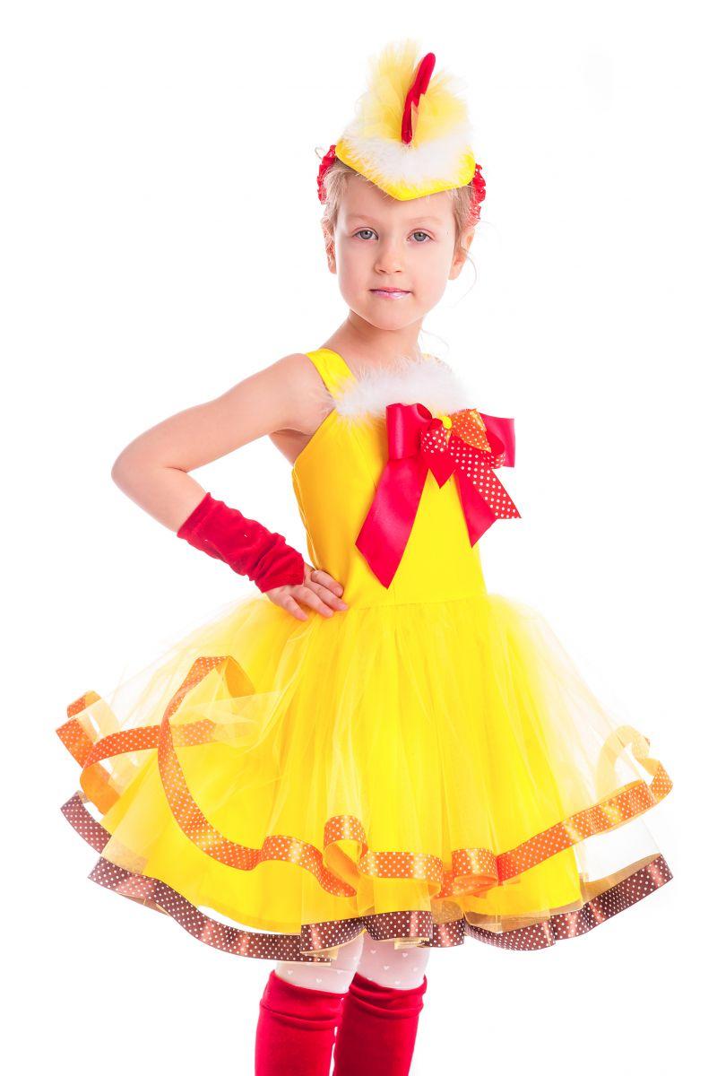 Масочка - «Курочка Цип-цип» карнавальный костюм для девочки / фото №2631