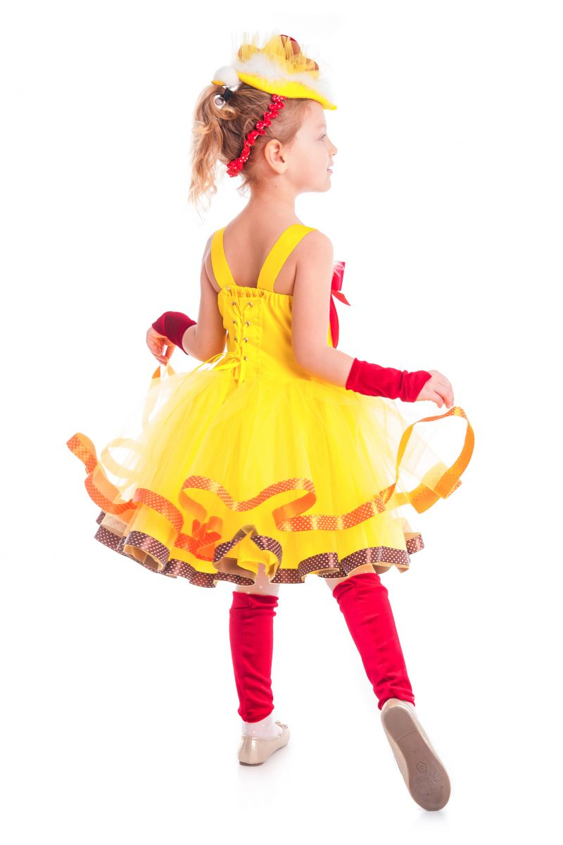 Масочка - «Курочка Цип-цип» карнавальный костюм для девочки / фото №2632