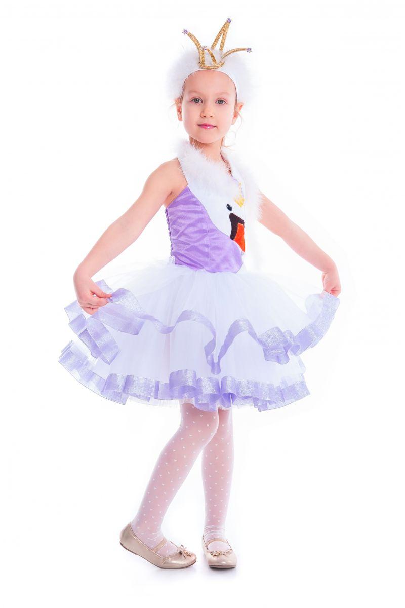Масочка - «Лебедь» карнавальный костюм для девочки / фото №2634