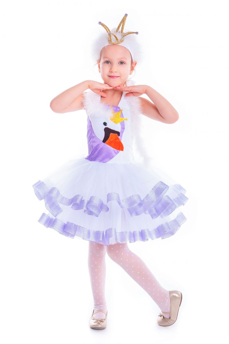 «Лебедь» карнавальный костюм для девочки