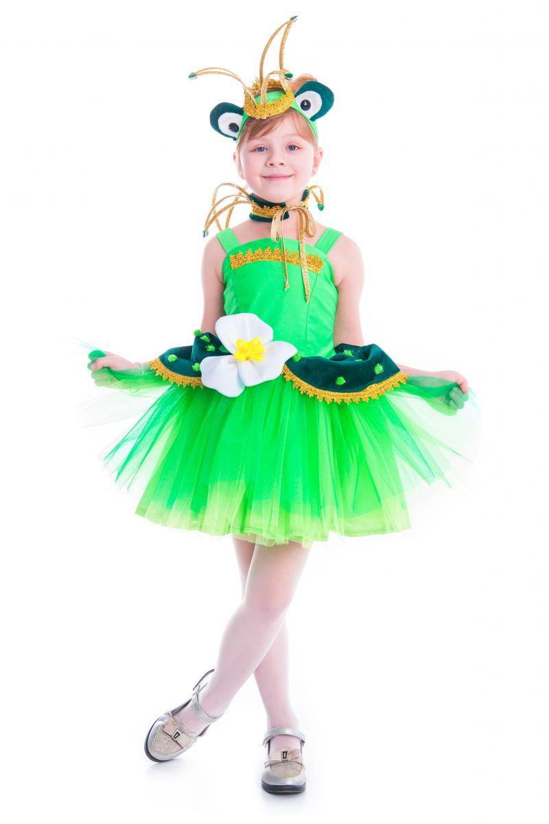 «Лягушка-царевна» карнавальный костюм для девочки