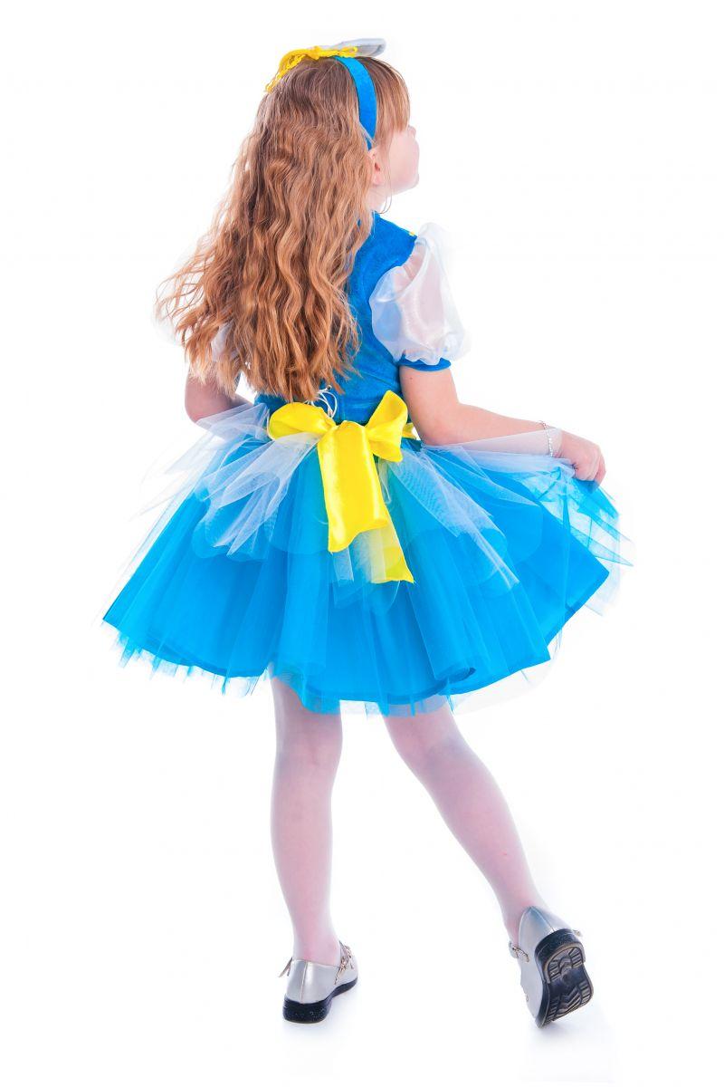 Масочка - «Весеннее солнышко» карнавальный костюм для девочки / фото №2647