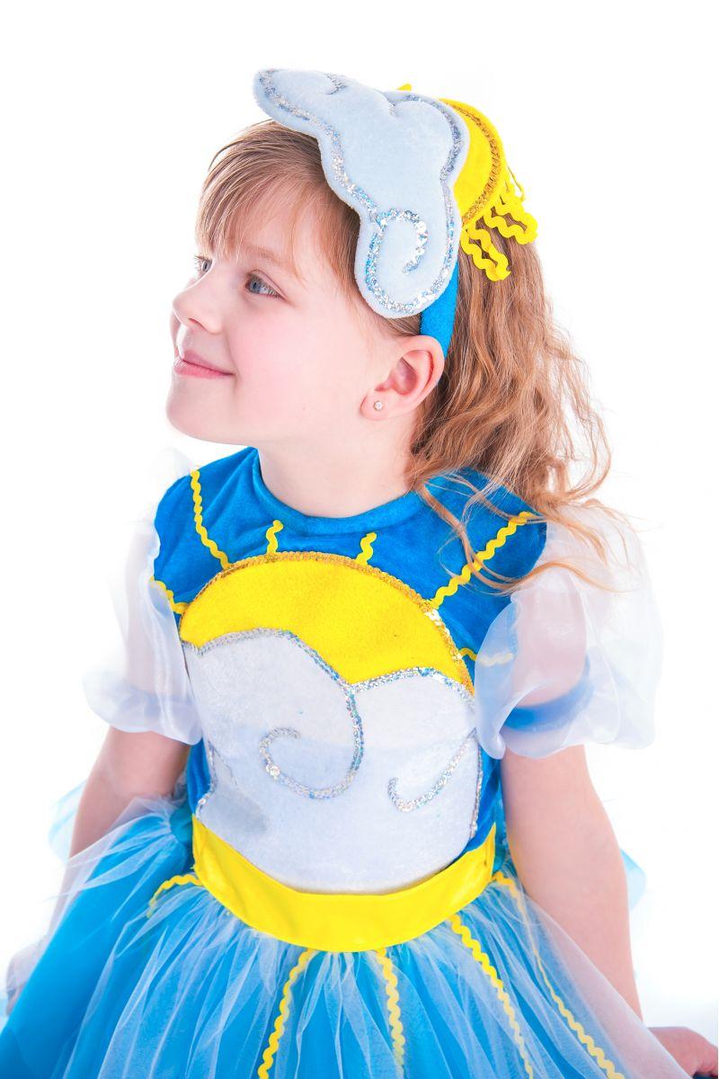 Масочка - «Весеннее солнышко» карнавальный костюм для девочки / фото №2648