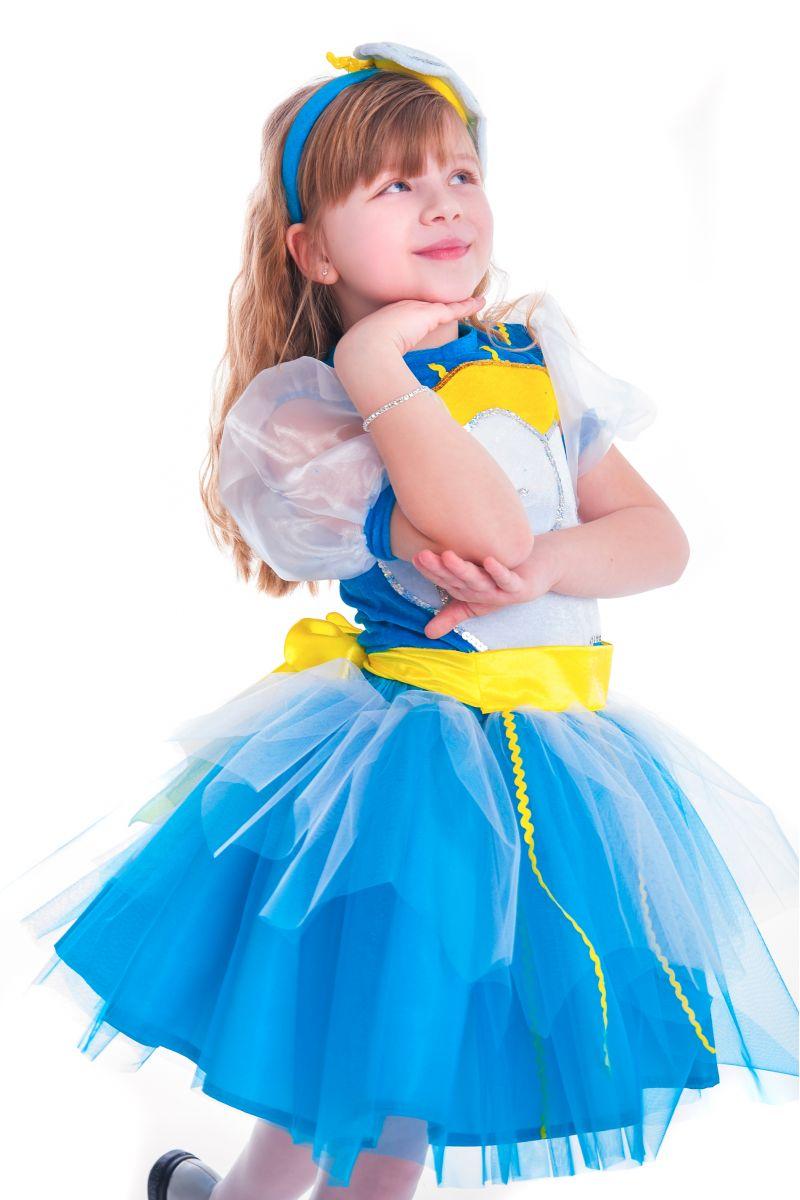 Масочка - «Весеннее солнышко» карнавальный костюм для девочки / фото №2649
