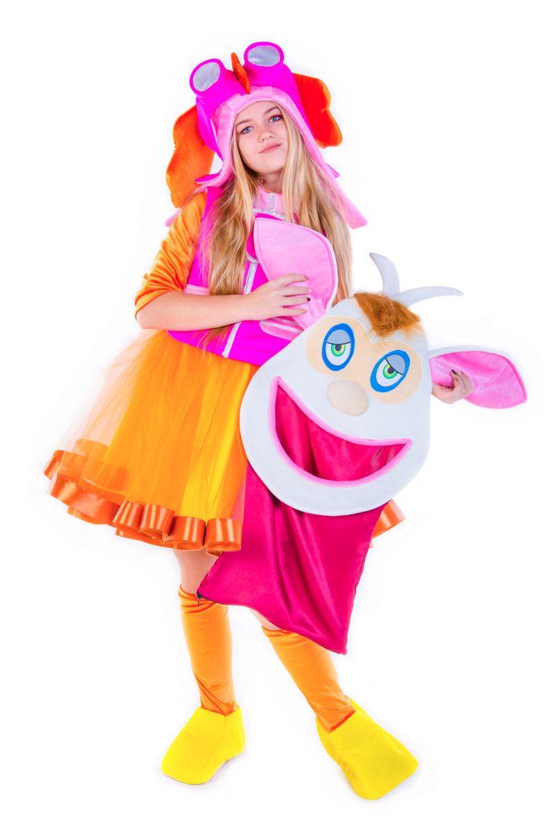 Масочка - «Домовенок Бубу » карнавальный костюм для аниматоров / фото №2653