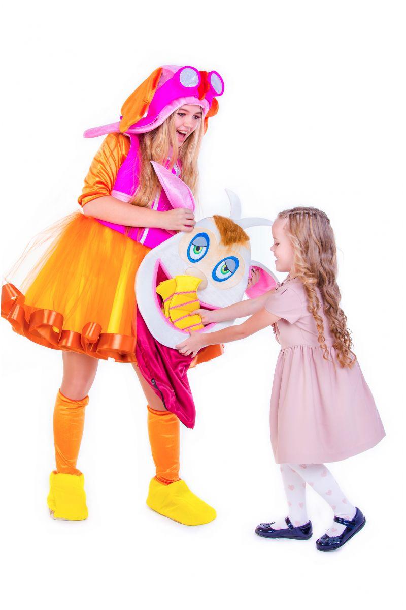 Масочка - «Домовенок Бубу » карнавальный костюм для аниматоров / фото №2654